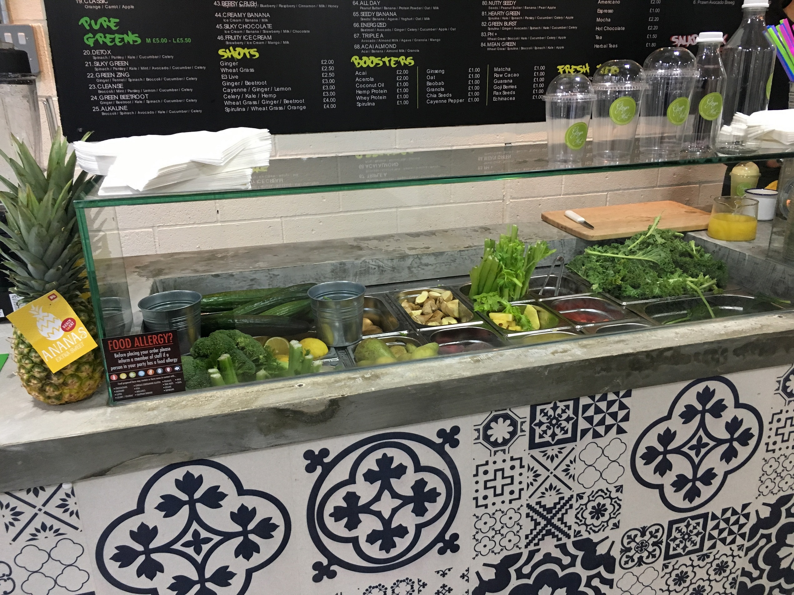 Ginger and Mint | East Village London E20